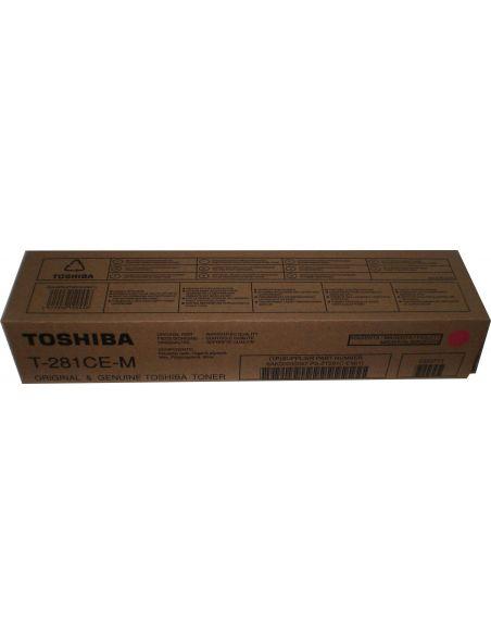 Tóner Toshiba T-281CE-M Magenta 6AK00000047 (10000 Pag) para e-Studio 281 351