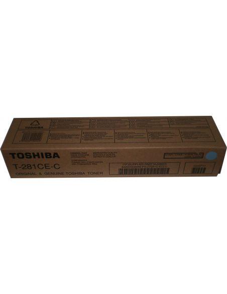 Tóner Toshiba T-281CE-C CIAN 6AK00000046 (10000 Pag) para e-Studio 281 351
