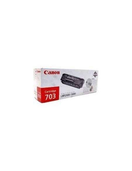 Tóner Canon 703 Negro 7616A005 (2000 Pag) para LBP2900 LBP3000