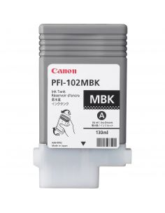 Tinta Canon negro mate PFI-102MBK (130 ml)
