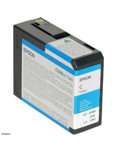 Tinta Epson T5802 Cian (80ml)