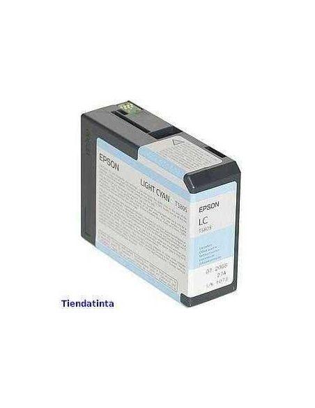 Tinta Epson T5805 Cian Claro (80ml)