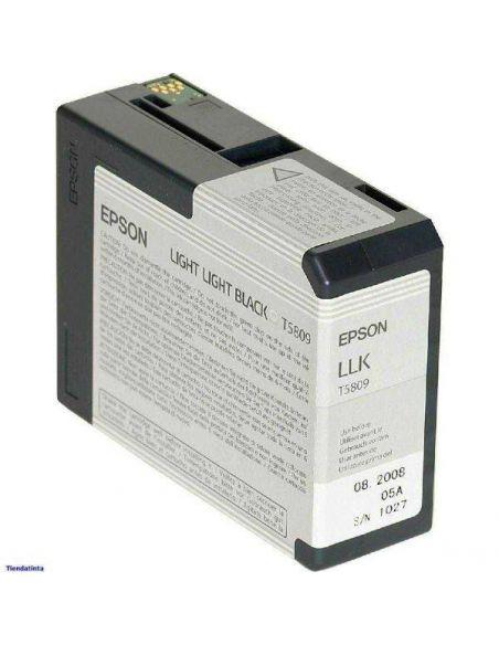 Tinta Epson T5809 Gris Claro (80ml)