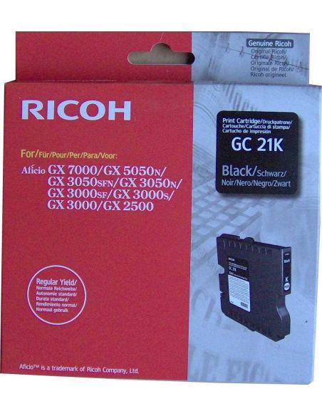 Tinta Ricoh 405532 Negro GC21K (1500 Pág)