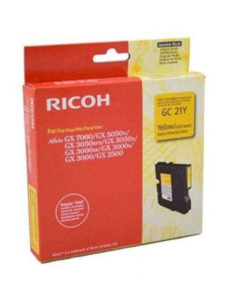 Tinta Ricoh GC21Y Amarillo 405535 (1000 Pág)