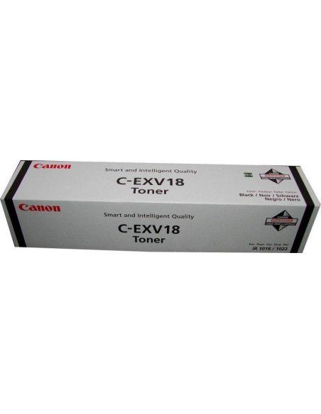 Tóner Canon C-EXV18 Negro (8400 Pág)
