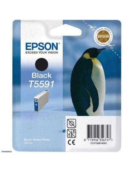 Tinta Epson T5591 Negro