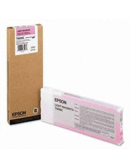 Tinta Epson T606C Magenta Claro C13T606C00 (220ml)