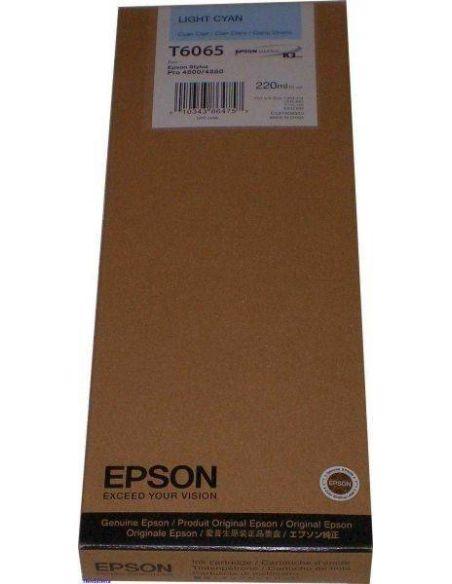 Tinta Epson T6065 Cian Claro C13T606500 (220ml)