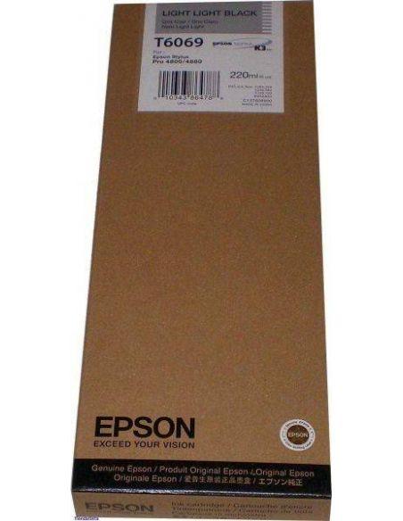 Tinta Epson T6069 Gris Claro C13T606900 (220ml)