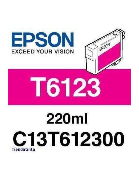 Tinta Epson T6123 Magenta (220ml)