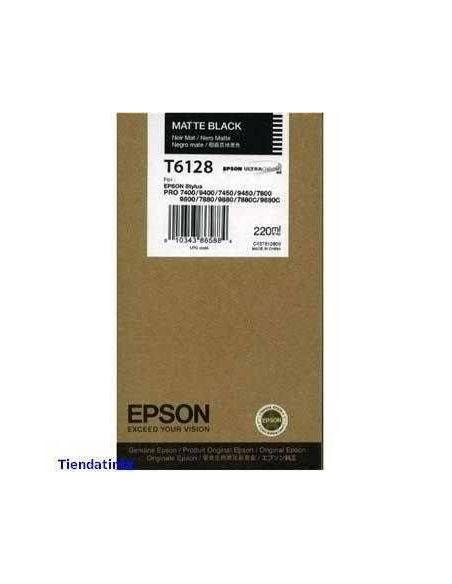 Tinta Epson T6128 Matte Negro (220ml)