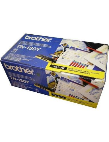 Tóner Brother TN-130Y Amarillo para DCP-9042 HL-4040