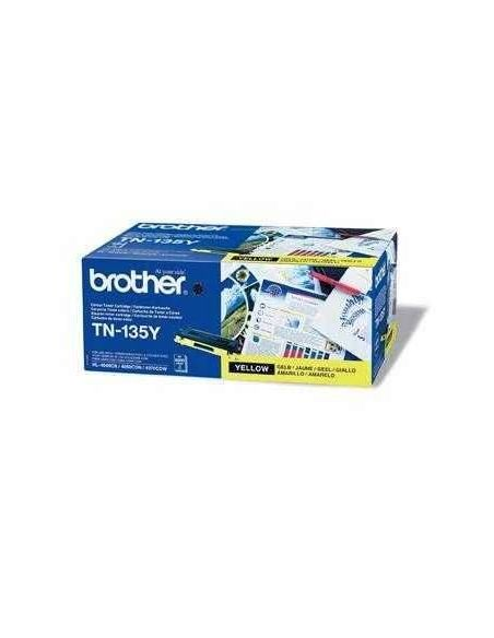 Tóner Brother TN-135Y Amarillo (4000 Pag) para DCP-9040 HL-4040