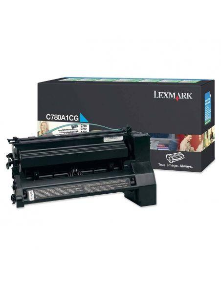 Tóner Lexmark C780A1CG CIAN (6000 Pag) para C782 X782