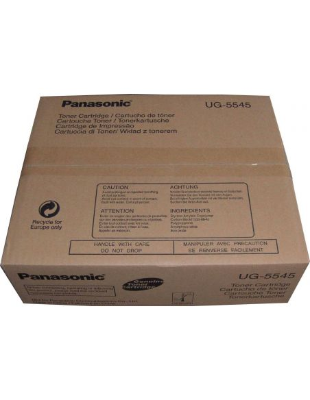 Tóner Panasonic UG-5545 Negro (6000 Pag) para UF7100