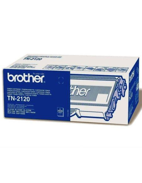 Tóner Brother TN2120 Negro (2600 Pag) para DCP7030 HL2140