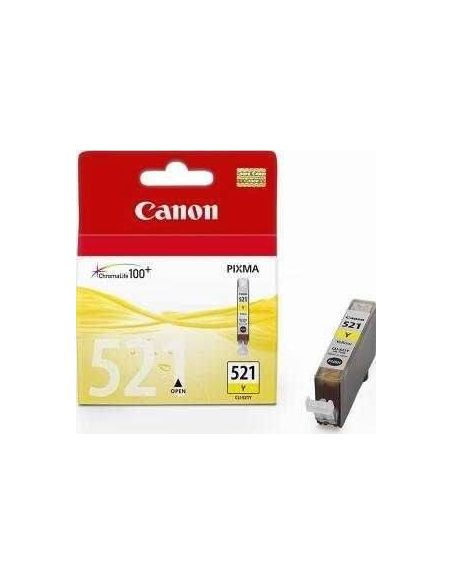 Tinta Canon 521Y AMARILLO (9ml)