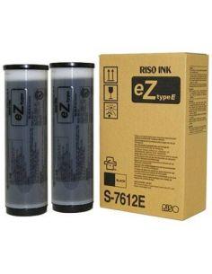 Tinta Riso S-7612E Negro (Z Type Riso Ink G1) (2x1000 ml)