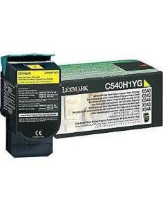 Tóner Lexmark C540H1YG Amarillo para C543 X543