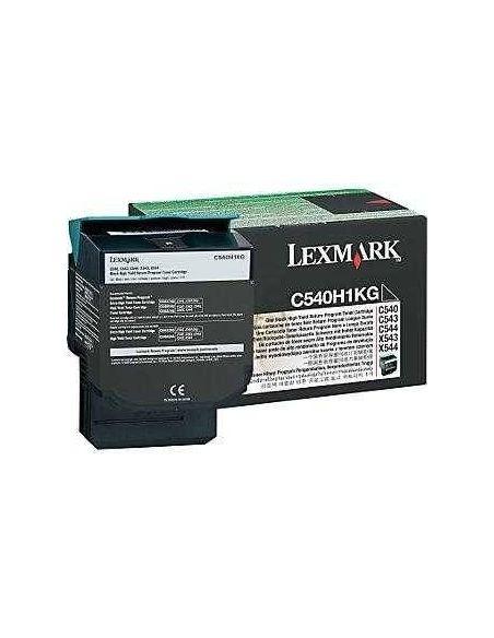 Tóner Lexmark C540H1KG Negro (2500 Pág)