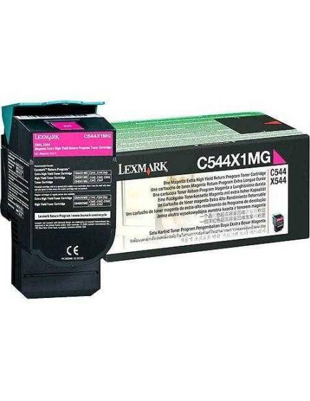 Tóner Lexmark C544X1MG Magenta (4000 Pág)