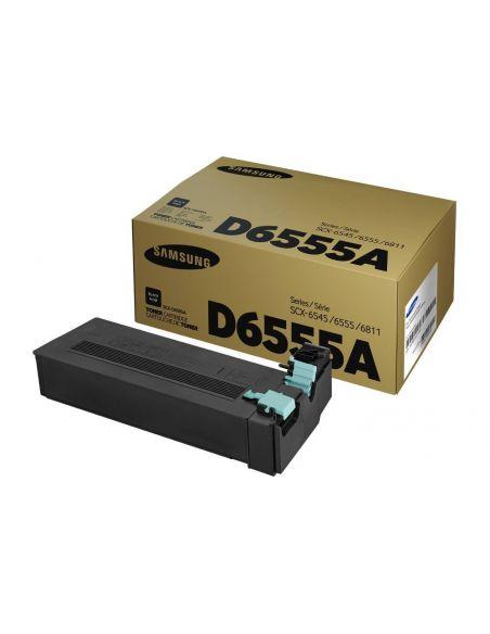 Tóner Samsung D6555A Negro (25000 Pag) para SCX6545 y mas