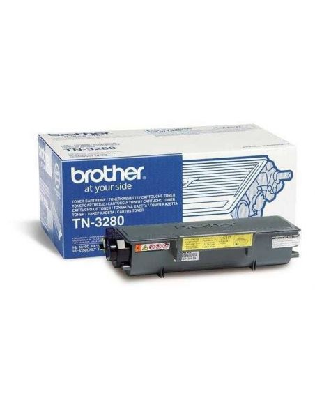 Tóner Brother TN-3280 Negro (8000 Pag) para DCP-8070 y mas