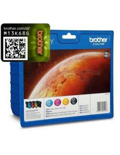 Pack Tinta Brother LC1100HYVAL BK,C,M,Y (4 Unid)