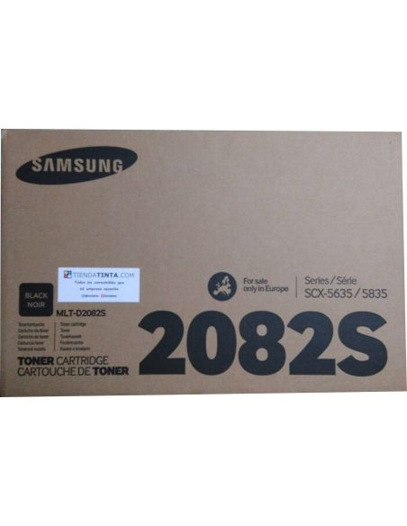 Tóner Samsung D2082S Negro (4000 Pag) para SCX5635 SCX5835