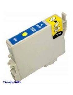 Tinta para Epson C13T048440 Amarillo T0484 (No original)