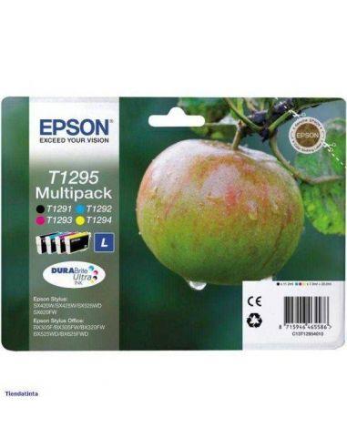 Pack Tinta Epson T1295 K,C,M,Y (11,2ml)