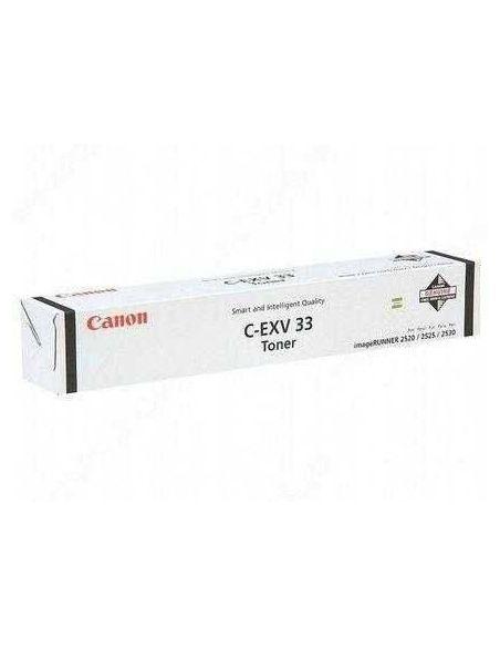 Tóner Canon C-EXV33 Negro (14600 Pag) para IR2520 y mas