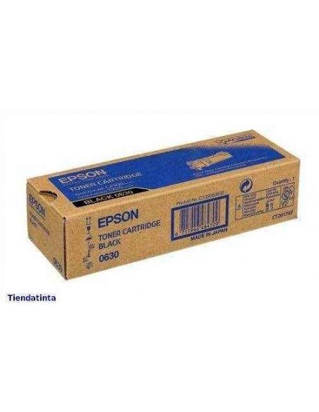 Tóner C13S050630 Epson 0630 Negro para Aculaser C2900 CX29