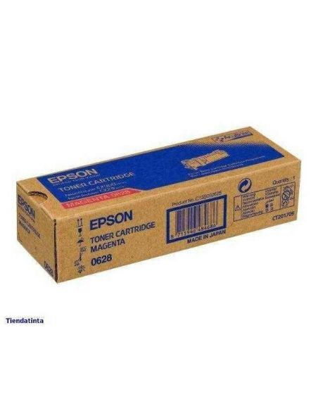 Tóner C13S050628 Epson 0628 Magenta para Aculaser C2900 CX29