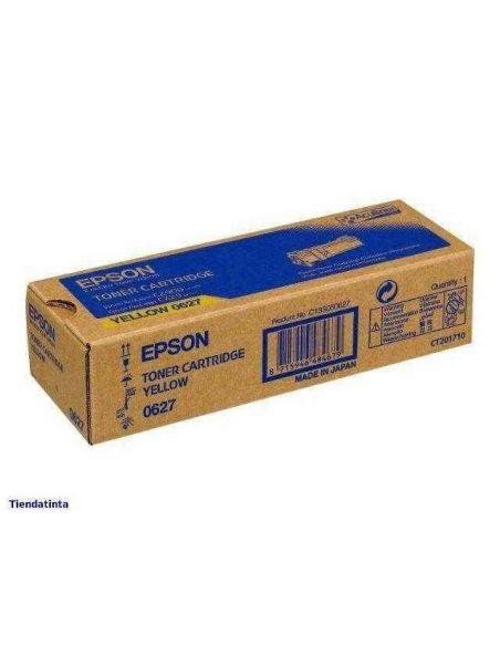 Tóner C13S050627 Epson 0627 Amarillo para Aculaser C2900 CX29