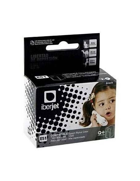Tinta para Epson T051 Negro (24ml) No original
