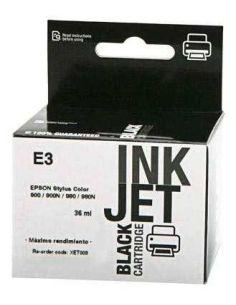 Tinta para Epson T003 Negro (36ml) No original