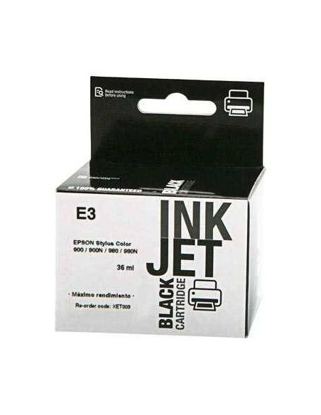 Tinta para Epson T003 Negro (36ml) No original