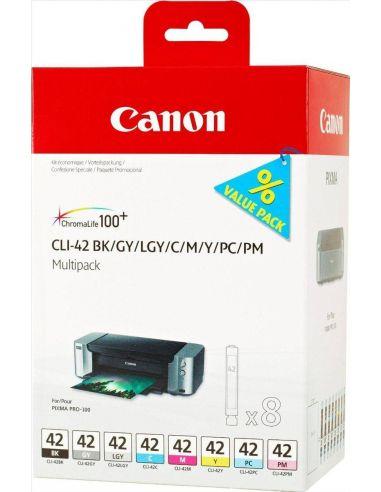 Tinta Pack Canon COLORES CLI-42