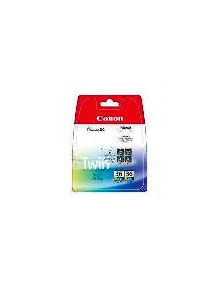 Tinta Pack Canon CLI-36 COLOR (2 cartuchos)