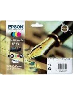 Tinta Pack Epson C13T163640 BK, C, M, Y 16XL (4 cartuchos) Original