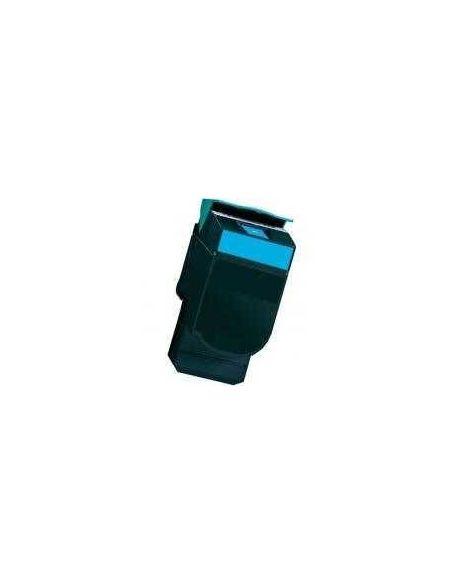 Tóner para Lexmark C540H1CG CIAN C540CY No original para C543 X543