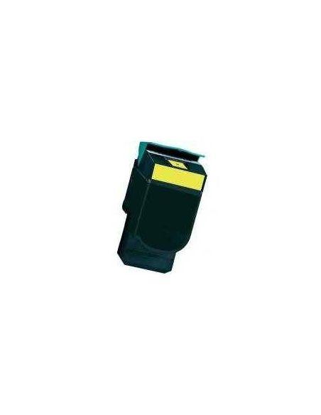 Tóner para Lexmark C540H1YG AMARILLO C540YL No original para C543 X543