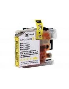 Tinta para Brother LC125XL Amarillo (1200 pag)(No original)