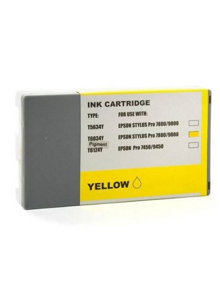 Tinta para Epson T6034 Amarillo (220ml) No original