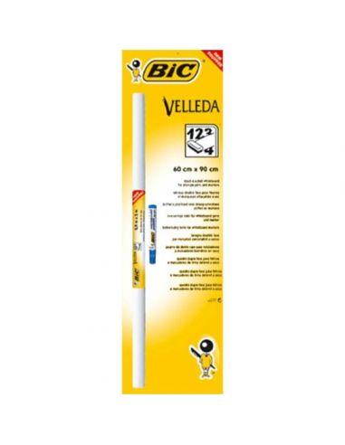 Pizarra blanca rollo adhesivo Velleda 100x200cm 870492