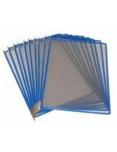 Fundas con Pivotes A4 azul (10 Unid) Tarifold 114001