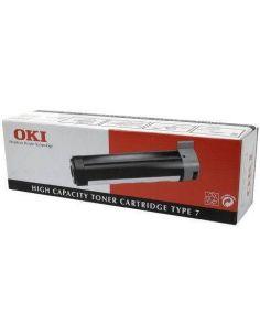 Tóner Oki 41022502 NEGRO (Type 7) (6000 Pág)