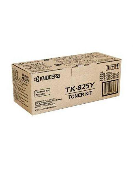 Tóner Kyocera TK825Y Amarillo (7000 Pag) para KMC2520 C3225